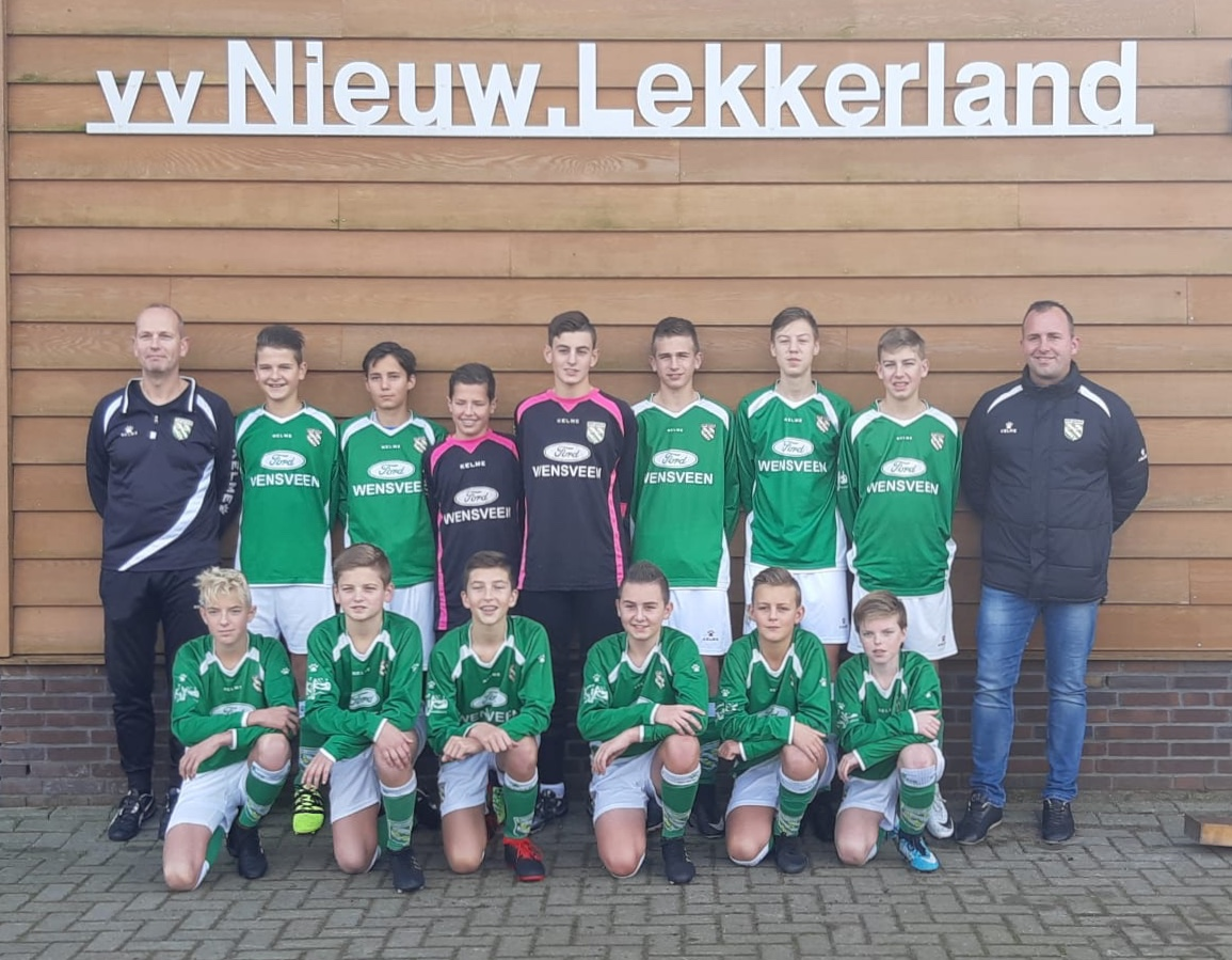 Sponsor Jeugd Voetbalteam Nieuw Lekkerland